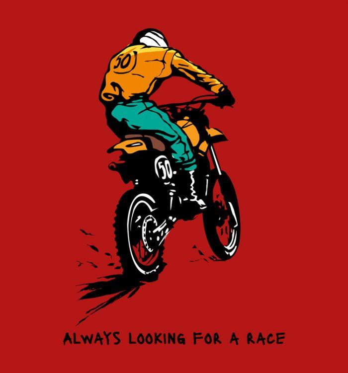 Race t shirt