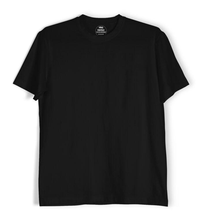 Black plain t shirts online India