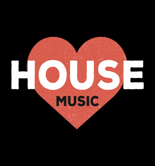 House-Music-Theme-Tee