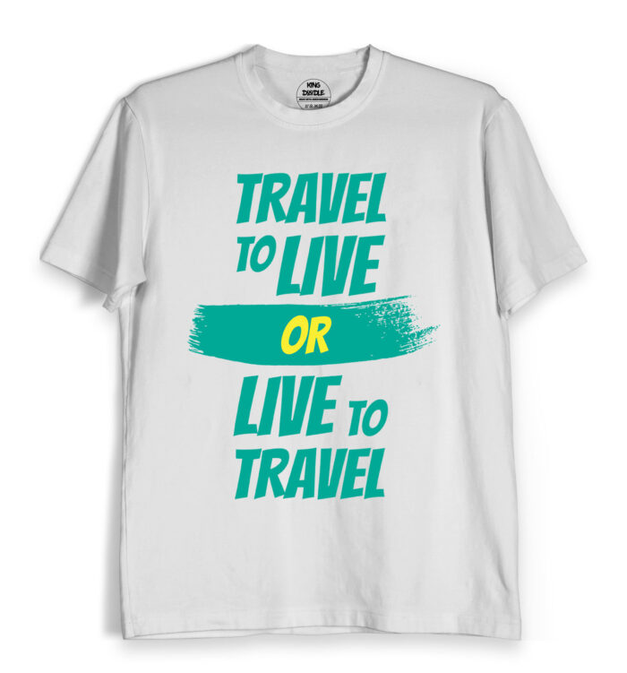 live to travel t shirts online