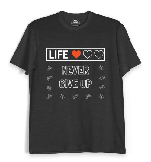 Never-Give-Up-Tee-Shirts-India