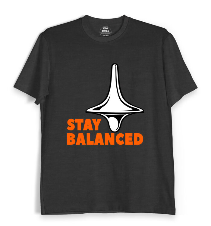 Stay Balanced Tee Shirts