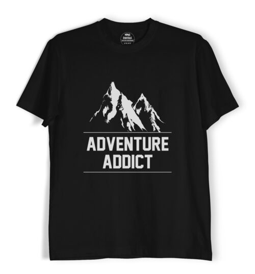 adventure addict tee