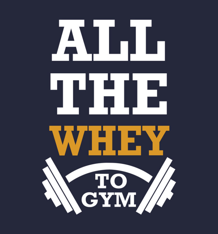 all the whey to gym