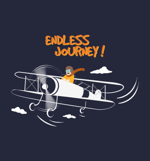 endless journey tee