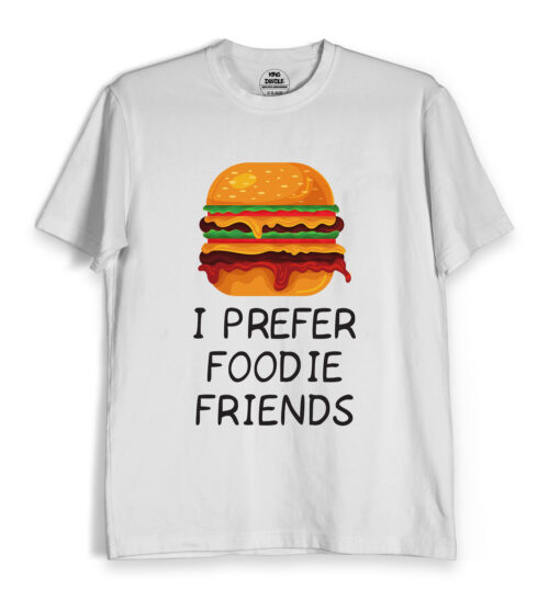 foodie friends tee shirts