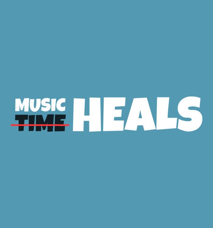 music heals tee shirt