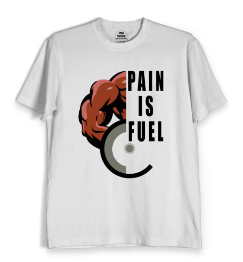 pain is fuel mens gym wear online India