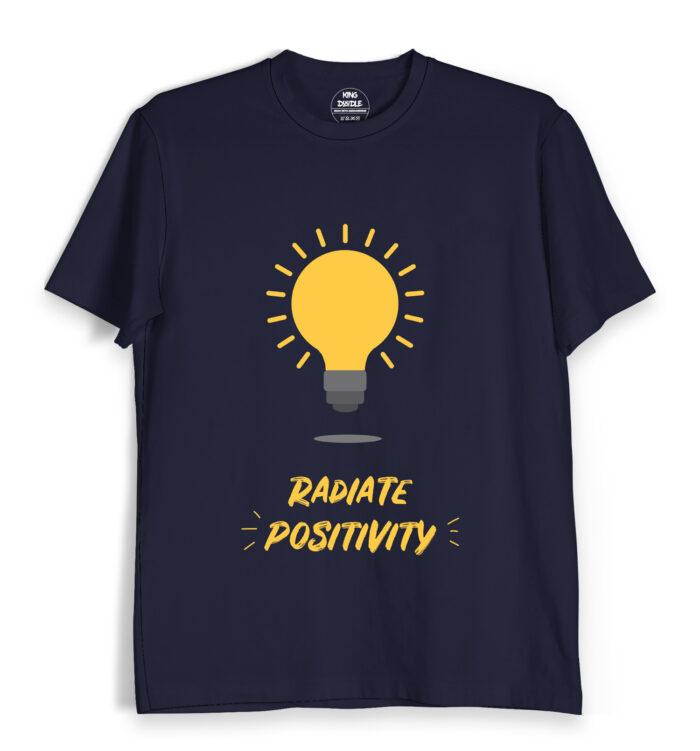 radiate positivity tee shirts