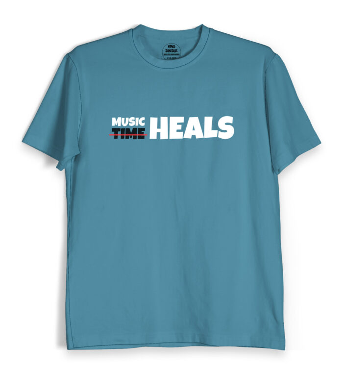 Music heals t shirts
