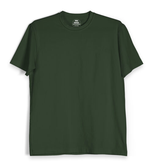 Olive Green Plain T Shirts Online India