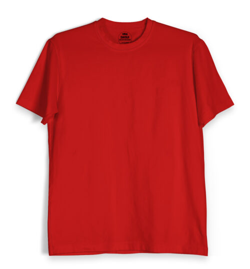 Red Plain T Shirts for Men & Women Online