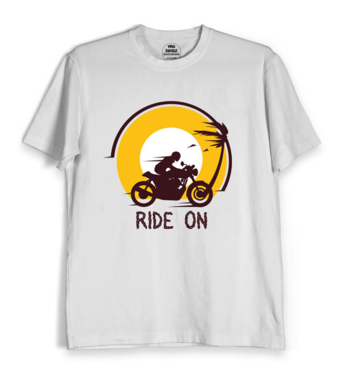 Ride on travel t shirts online