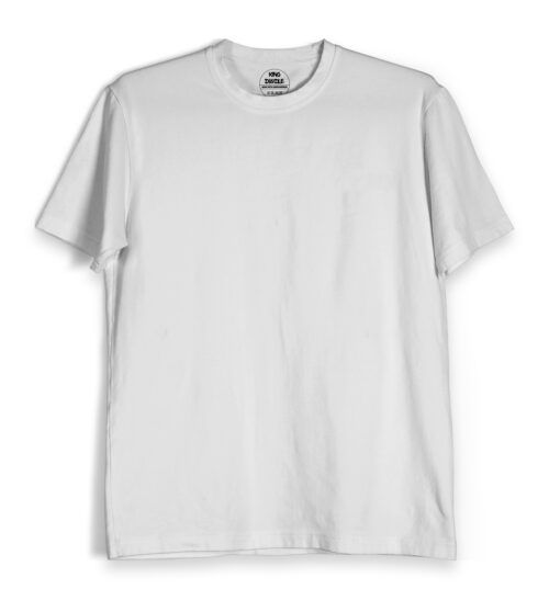 White Plain T Shirts Online India