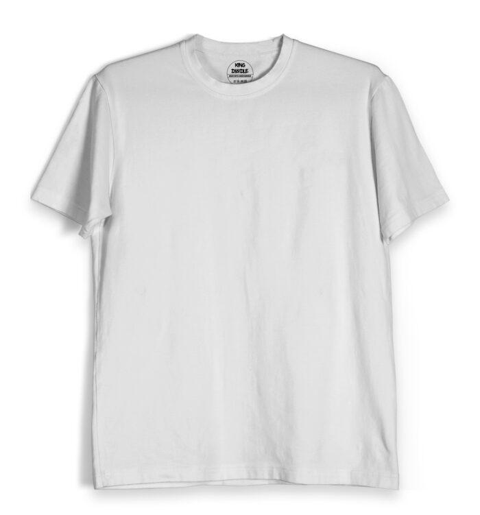 White Plain T Shirts Online India