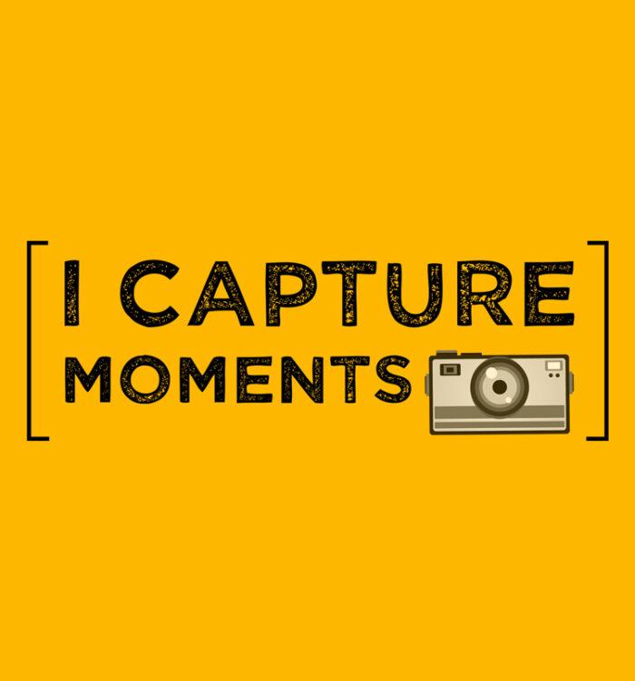 i capture moments T shirts