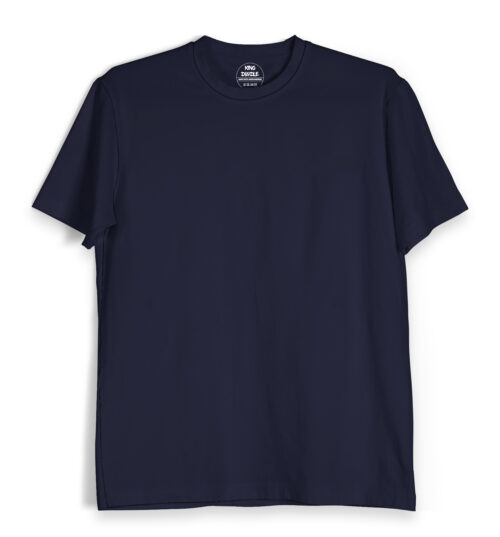 Navy Blue Plain T Shirts Online India