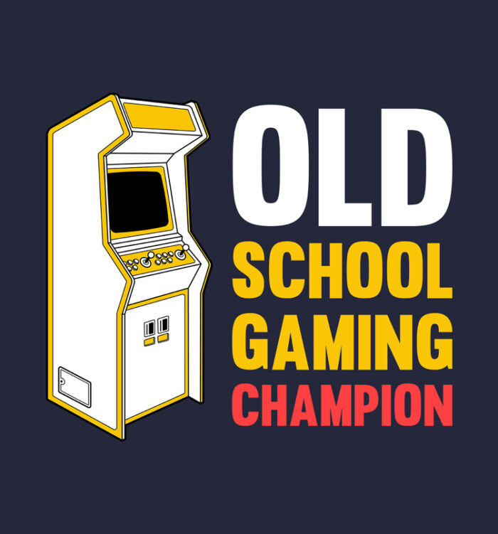 old school gaming tee