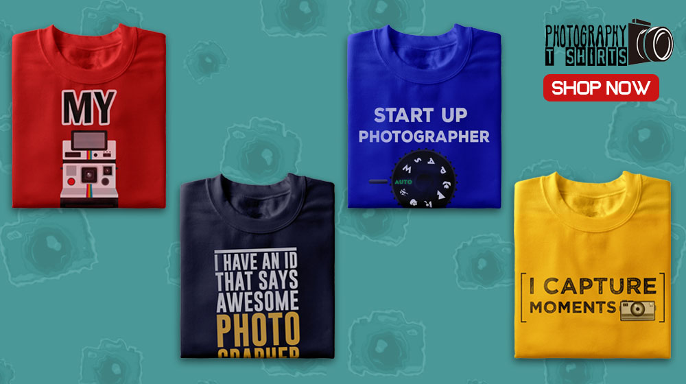 Buy Photography Tee Shirts Online