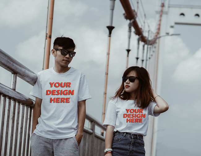 Design Custom Printed T Shirts Online India
