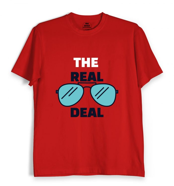 The Real Deal Red T Shirt Online