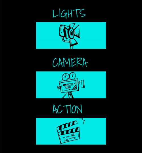Lights Camera Action Quotes