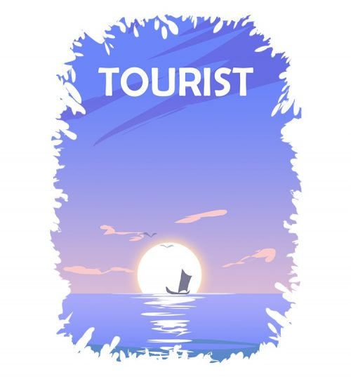 Tourist Travel Themed T Shirts