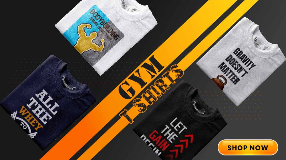 Buy gym t shirts online India