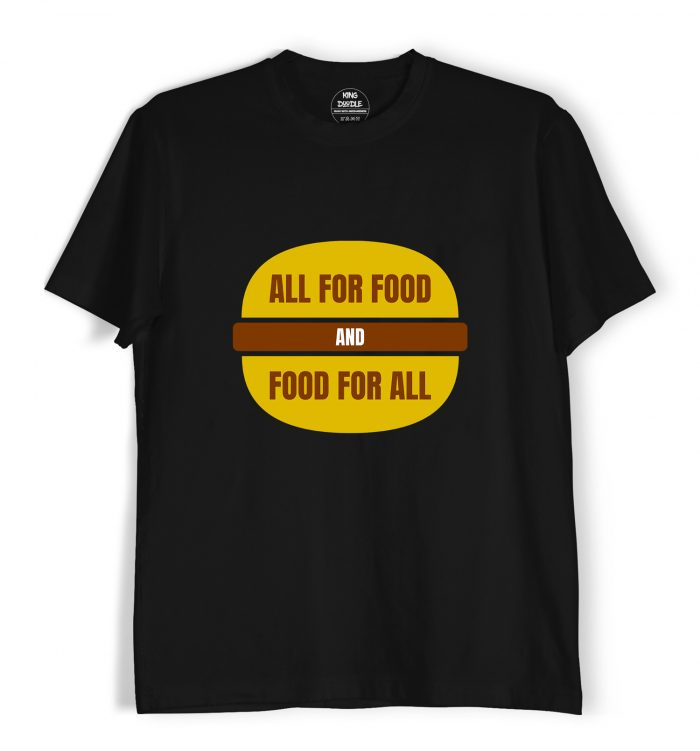 All for food T shirts online