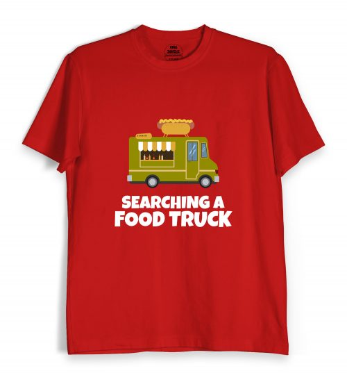 Searching Food Truck Tee Shirt Oline