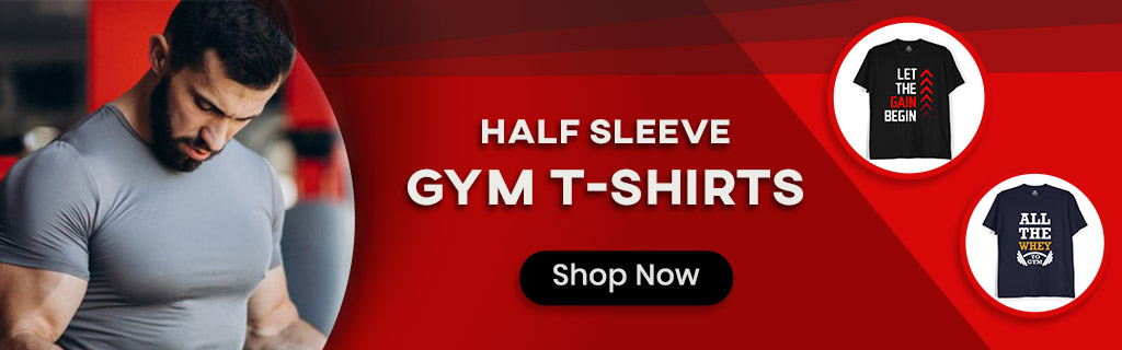 Buy Gym T Shirts for Men and Women Online India