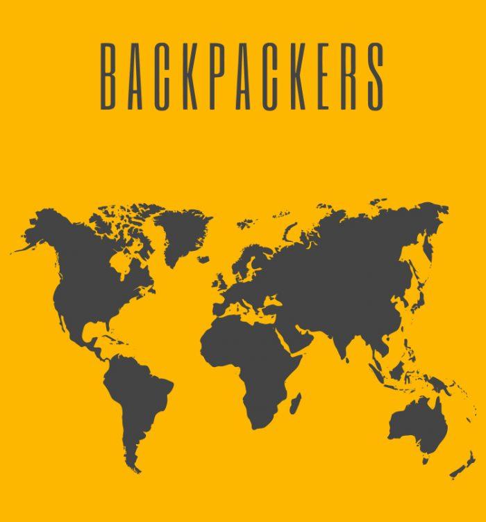 Backpackers Travel Tee