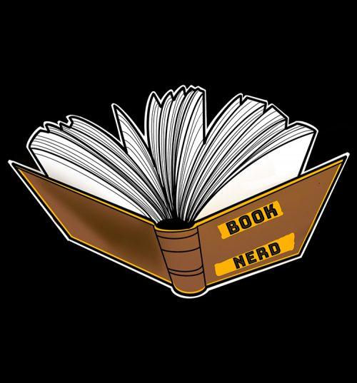 buy Book nerd t shirt