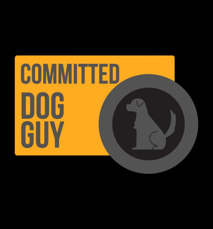 Committed dog guy