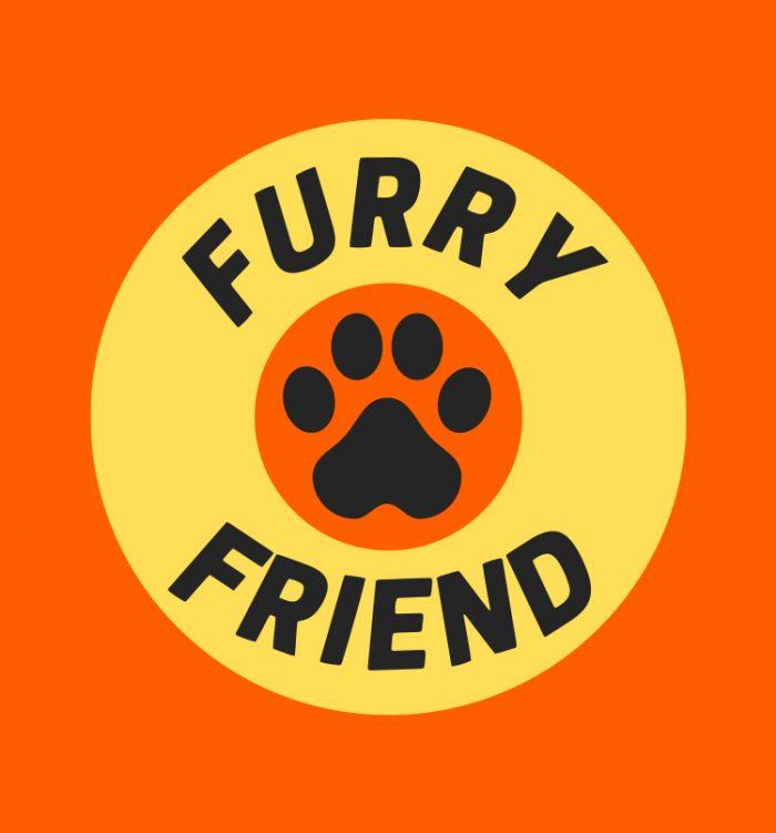 Furry Friend dog t shirt