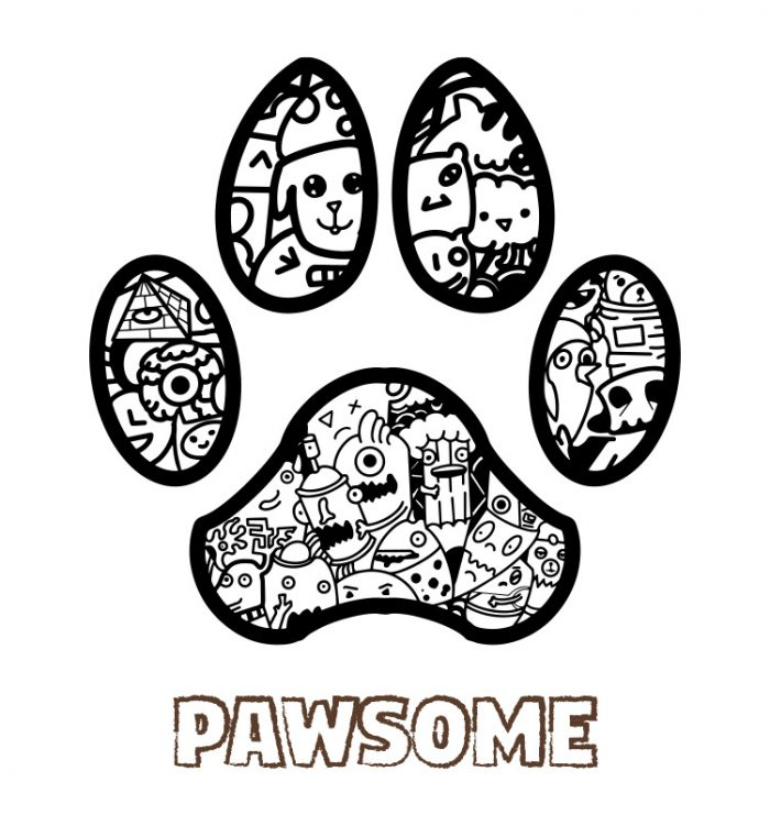 Paw some doodle