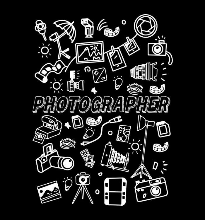 Photographer doodle