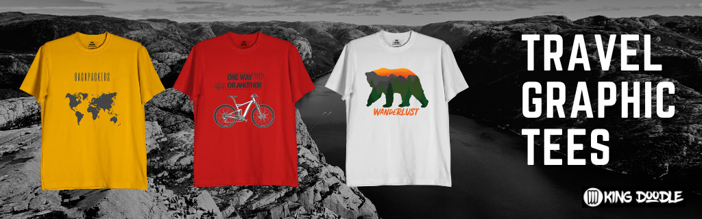 Best Travel T Shirts Online India